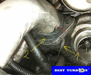 bmw turbo replacement guide