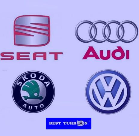 Golf 2.0 TDI, VW Passat 2.0 TDI, VW Touran 2.0 TDI, Skoda Octavia II 2.0 TDI, VW Golf V 2.0 TDI, Audi A3 2.0 TDI, Seat Leon 2.0 TDI