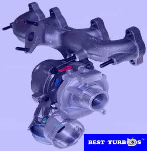 Turboharger VW Golf , Audi A3, Leon, Octavia, Fabia 1.9TDI 751851-5003S, 751851-2, 751851-3, 03G253014FX, 038253010D