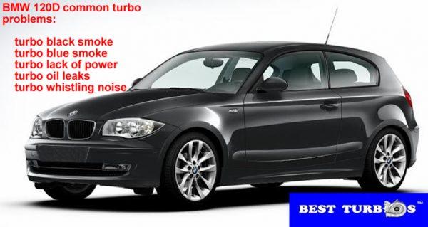 bmw 120d common turbo problems