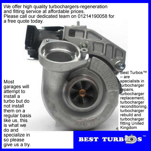 turbo, turbocharger BMW 118d E87, BMW 318d E87