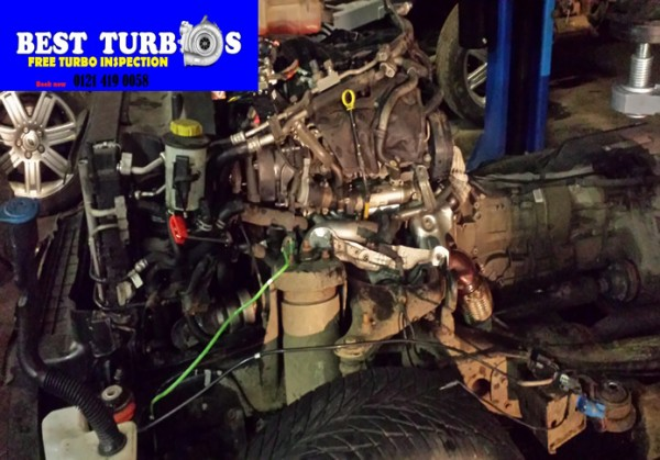 land rover turbo charger repair chell lift up