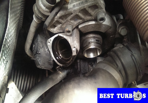 bmw 320D turbocharger turbo replacement guide