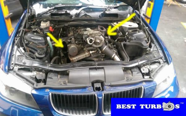 BMW 320D whistle sound