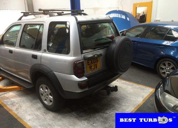 Land Rover Freelander 2.0 Diesel Turbo Replacement