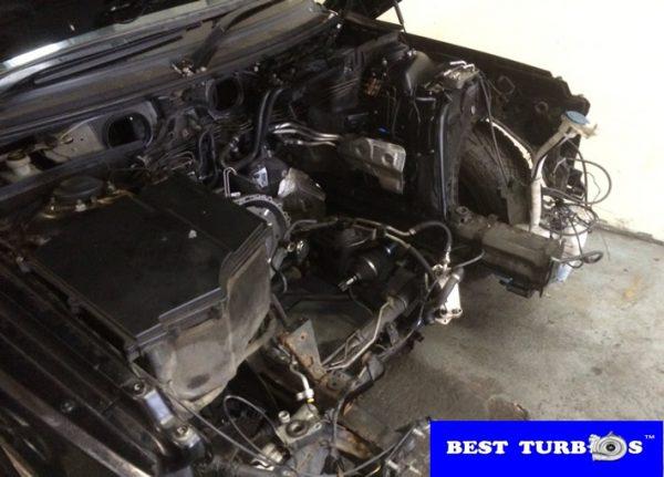 Land Rover Range Rover 3.6 Diesel Engine Dismantling