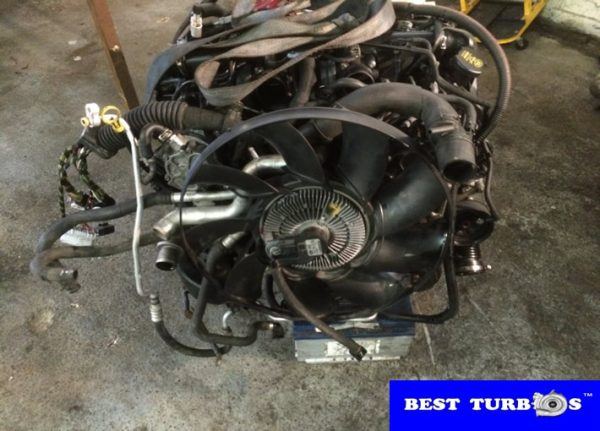 Land Rover Range Rover 3.6 Diesel Engine Removal