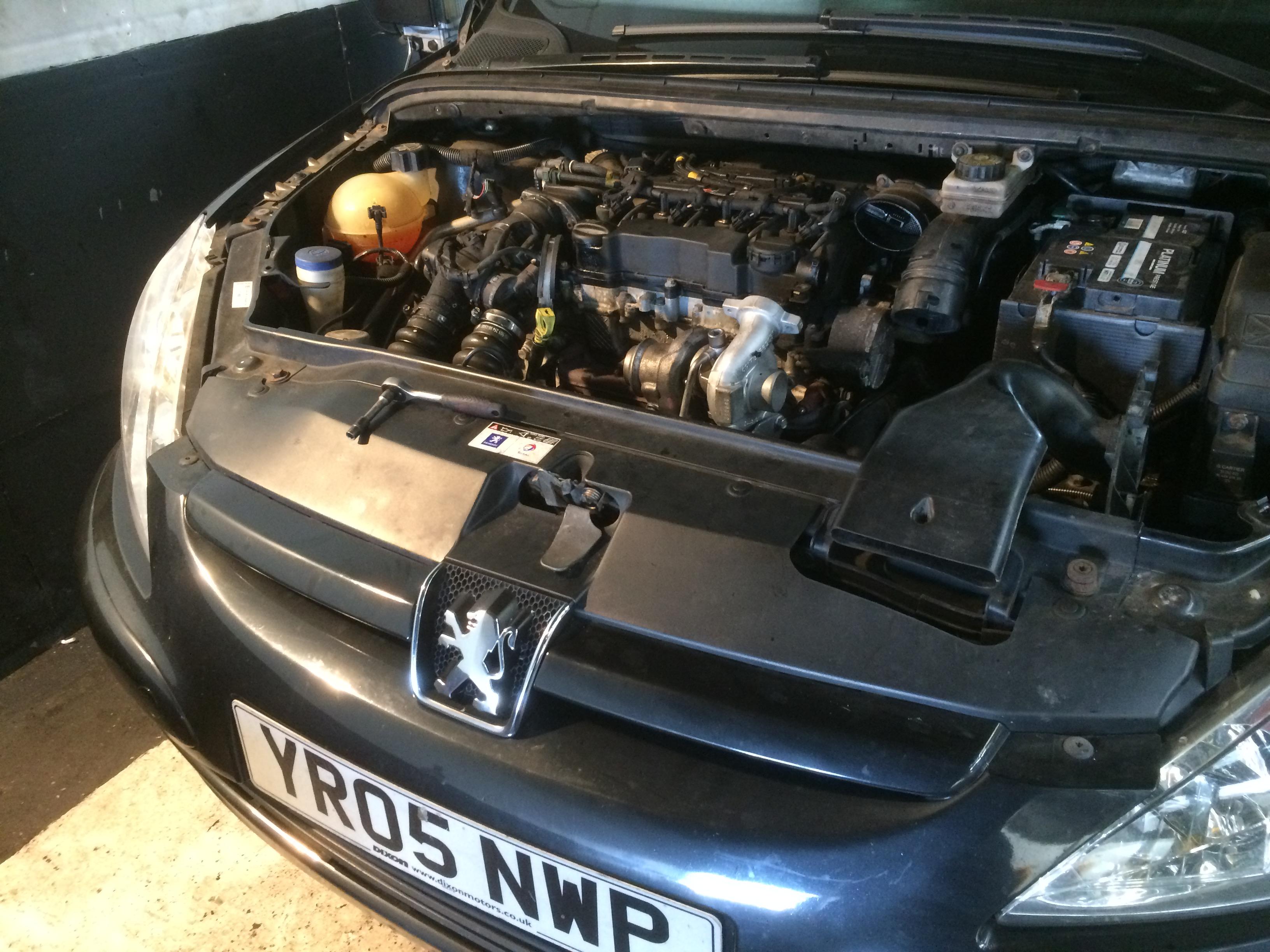 Peugeot 307 1 6 Diesel turbo replacement
