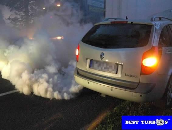 Turbo Charger failure, loss of power, black smoke, blue smoke