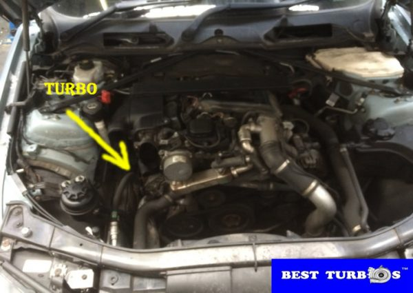 bmw 3 series 2.0 diesel turbo replacement