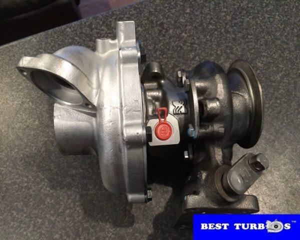 BMW 535d big turbocharger