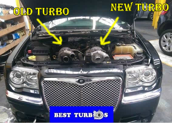 Chrysler 3.0 crd c300 turbo problems, lack of power, black smoke, blue smoke, oil leak, whistling noise, turbo recon & fitting