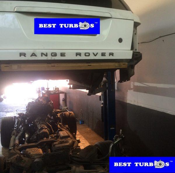 Land Rover Range Rover Sport 2.7 turbo problems, lack of power, black smoke, blue smoke, oil leak, whistling noise, turbo replacement