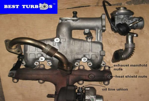 turbo turbocharger parts repair recon