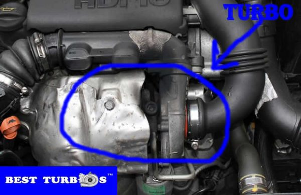 Citroen C3 1.6 HDI, Citroen C4 1.6 HDI, Citroen C5 1.6 HDI or Citroen Picasso 1.6 HDI turbo problems