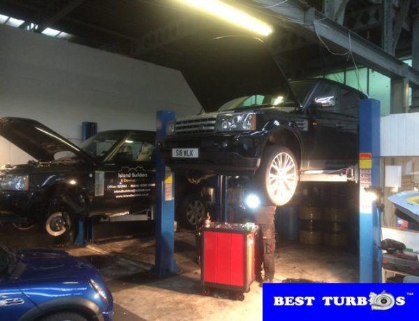 Range Rover Discovery TDV6 2.7, Range Rover TDV8 3.6, turbo problem engine system fault, white smoke, black smoke, blue smoke, no power, turbo noise, whistle, oil leak