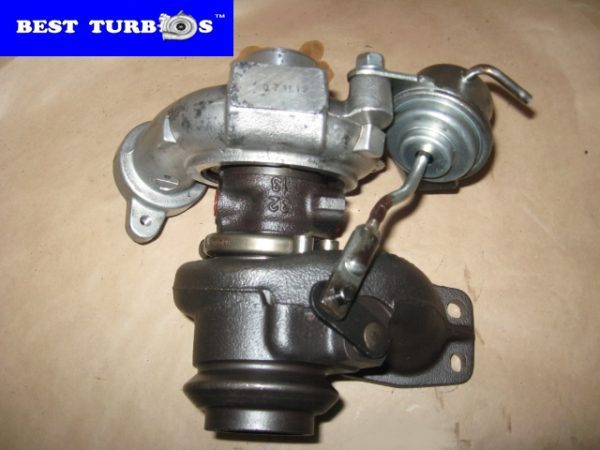 Turbo, Turbocharger, Ford C-MAX 1.6 TDCi, Ford Focus II 1.6 TDCi, Ford Fusion 1.6 TDCi