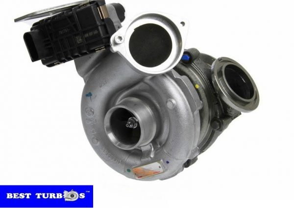 Turbo replacement for BMW X5 E71 3.0D
