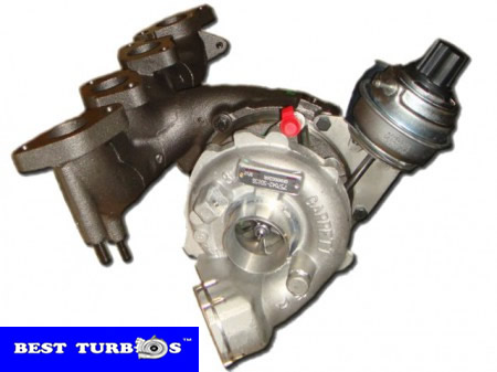 Volkswagen Golf V 2.0 TDI Turbocharger Garrett GT1749VC