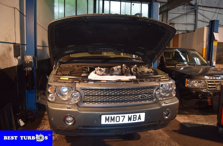 Range Rover Discovery, TDV6, TDV8, Sport, Vogue turbo replacement turbo fitting